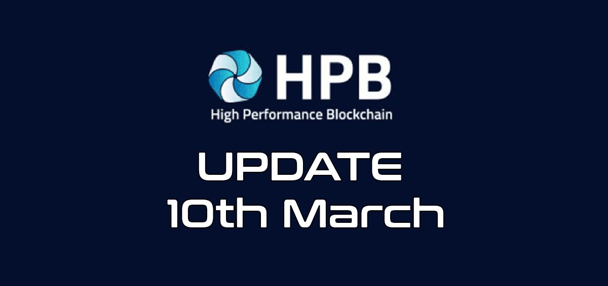 HPB Update 10th March