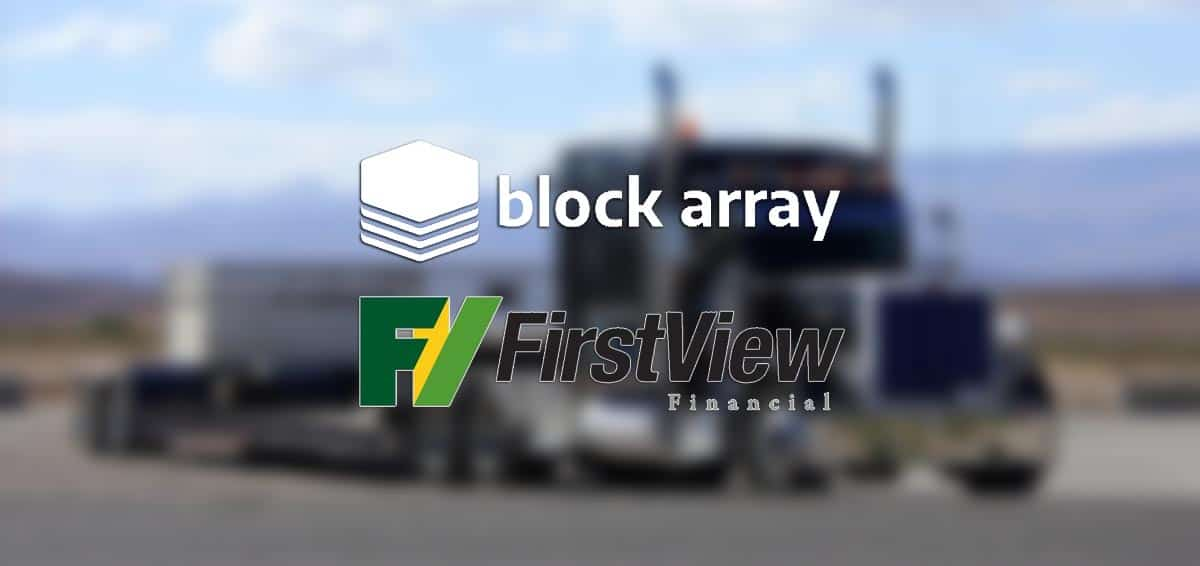 Block Array First View Financial Partnership featured