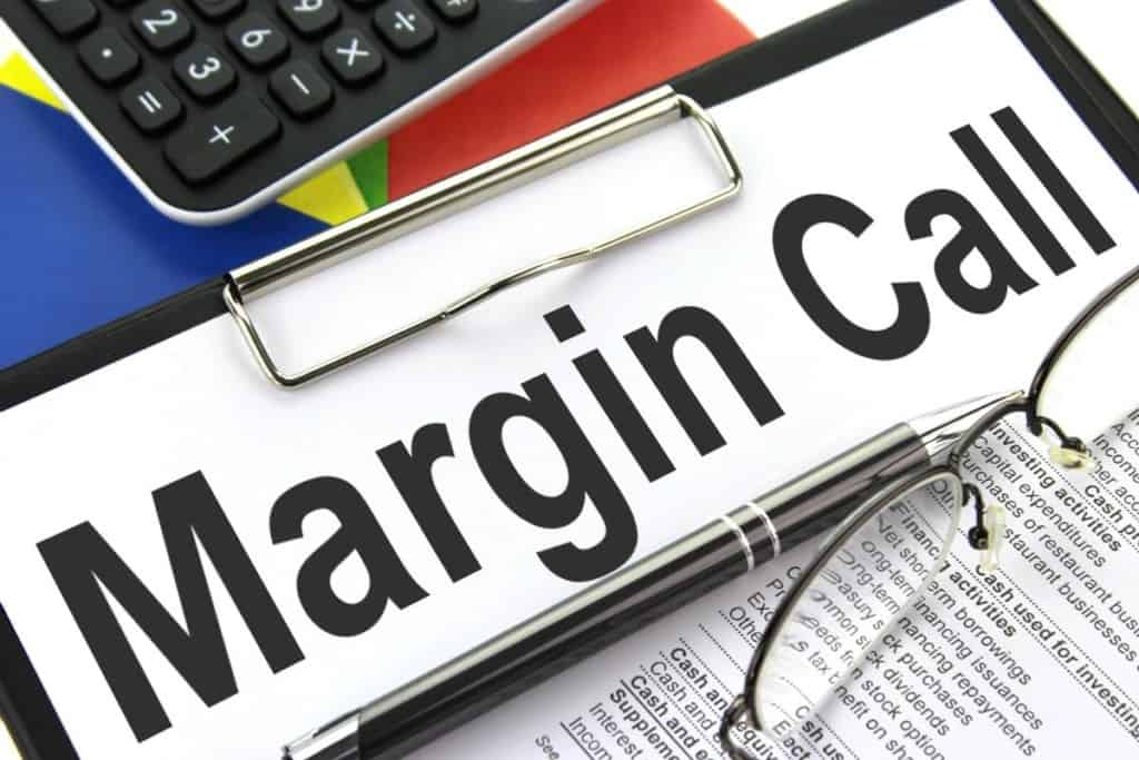 Margin call sign